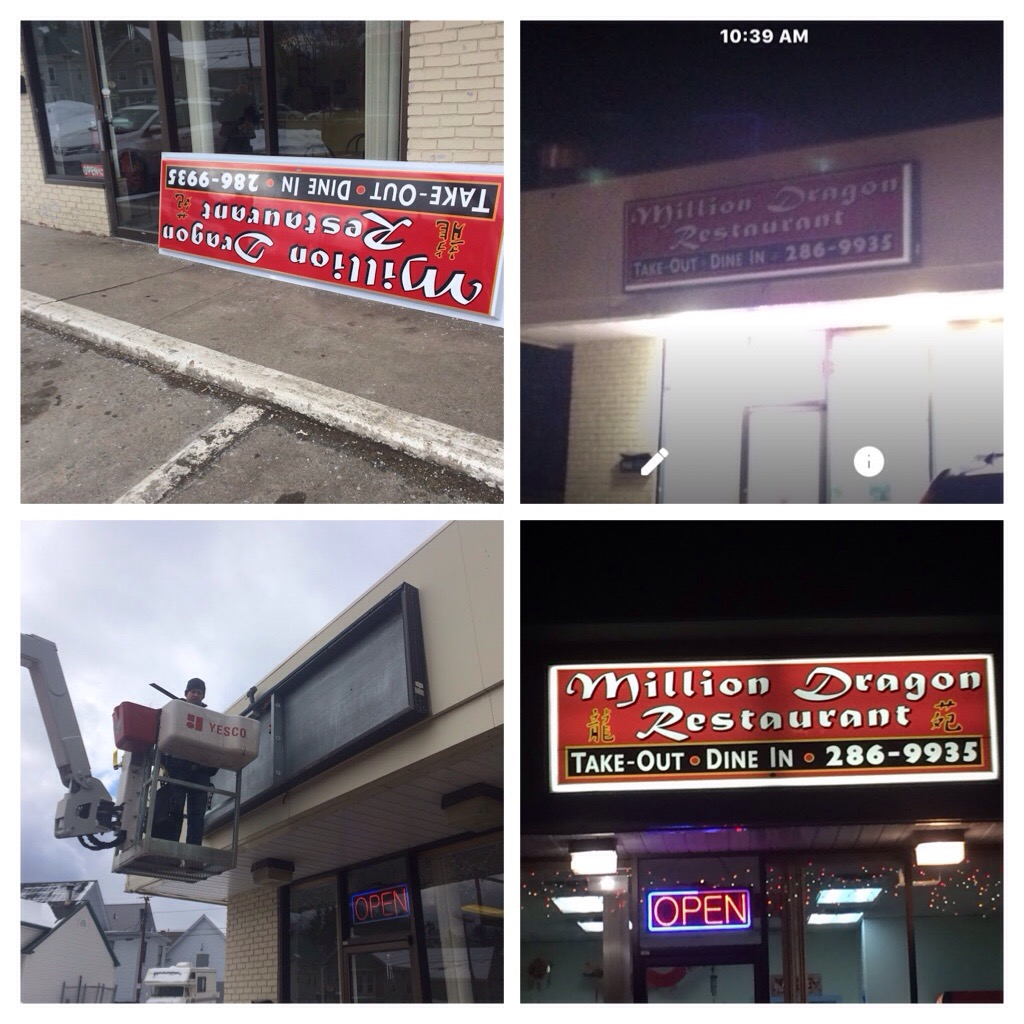 Electric Sign Repair in Concord NH