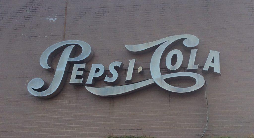 Pepsi before cleaning - LED retrofit