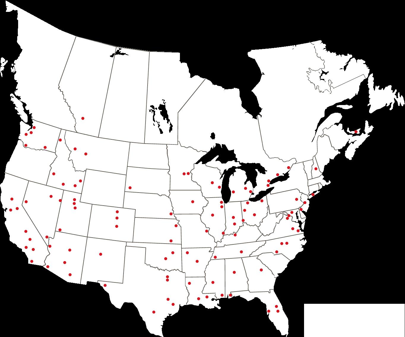Locations – YESCO Franchising