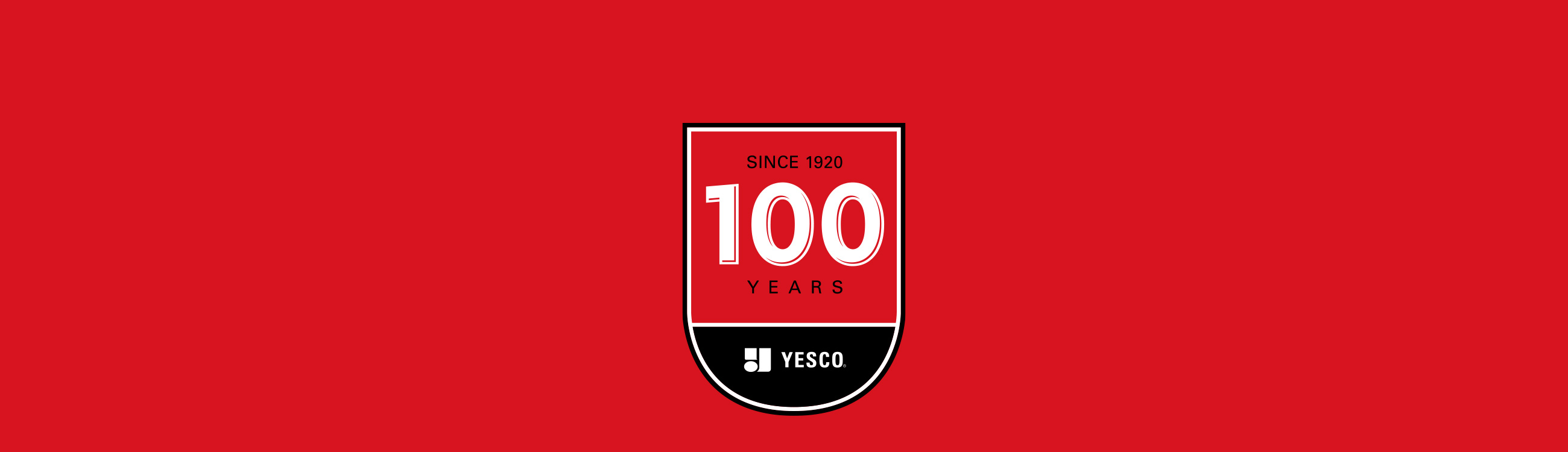 YESCO 100Y ears