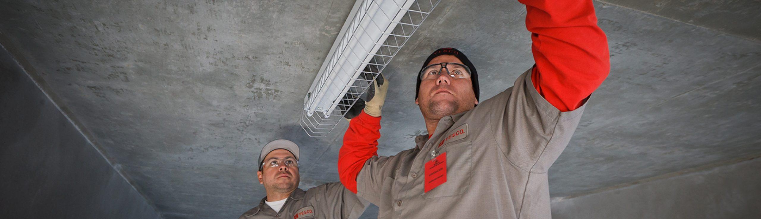 lighting maintenance