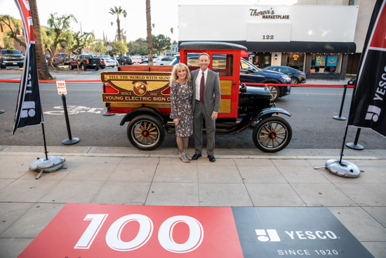 YESCO 100 years Los Angeles Celebration