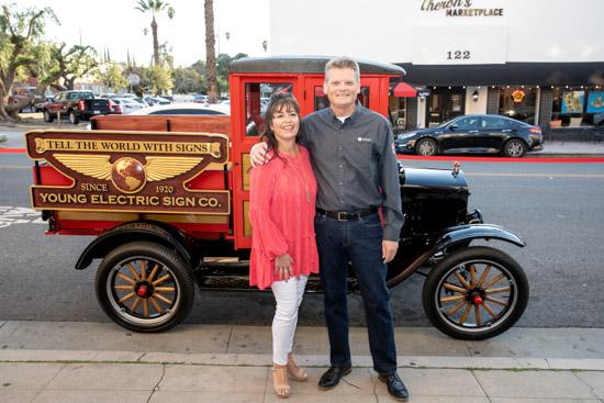YESCO 100 years Los Angeles Celebration