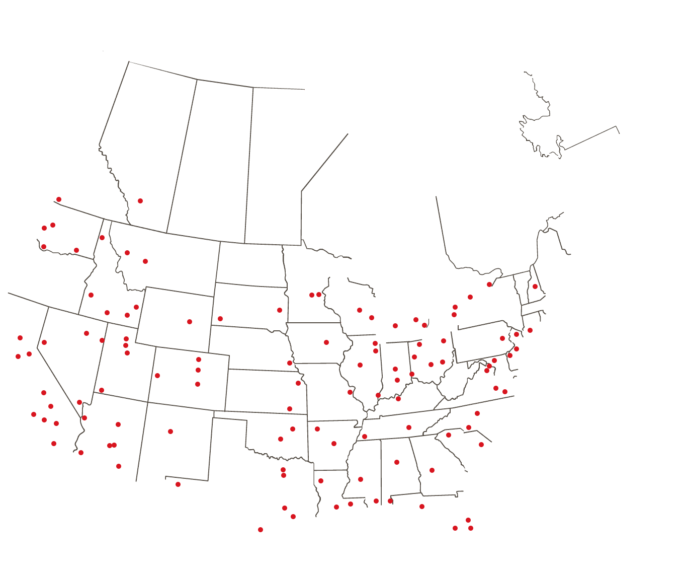 Yesco Locations Nationwide