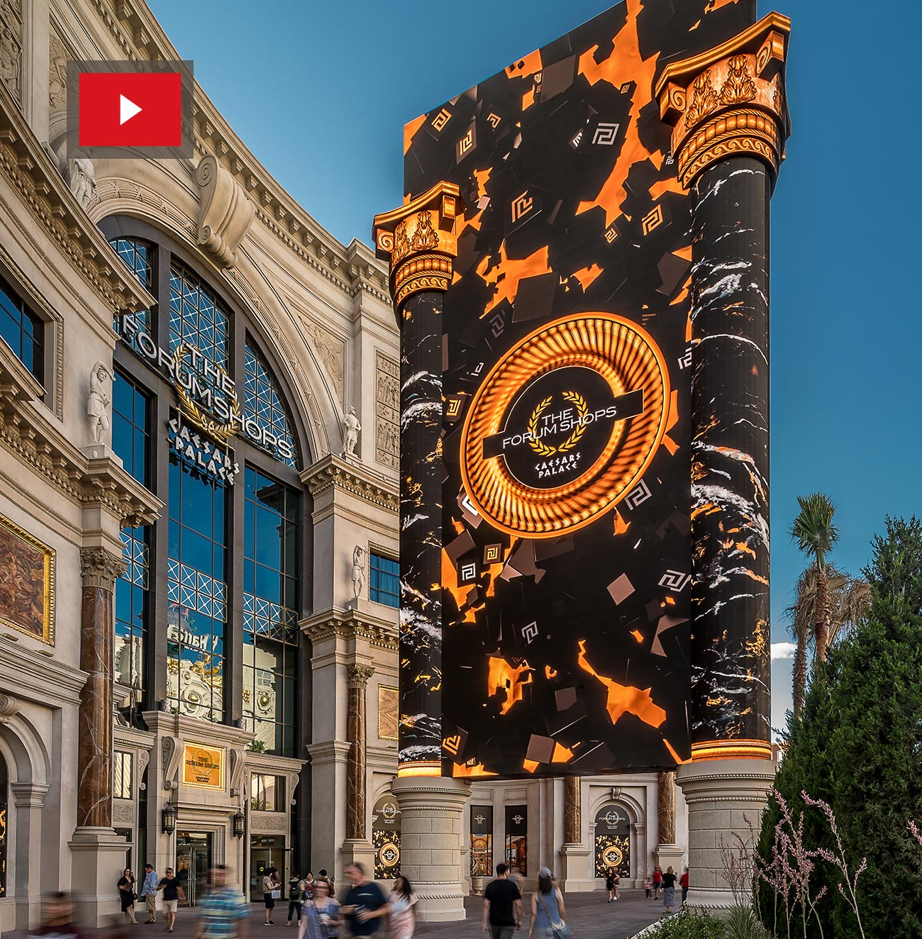 The Forum Shops at Caesars Palace