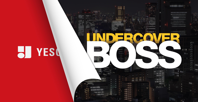 """YESCO on CBS's """"Undercover Boss"""""""
