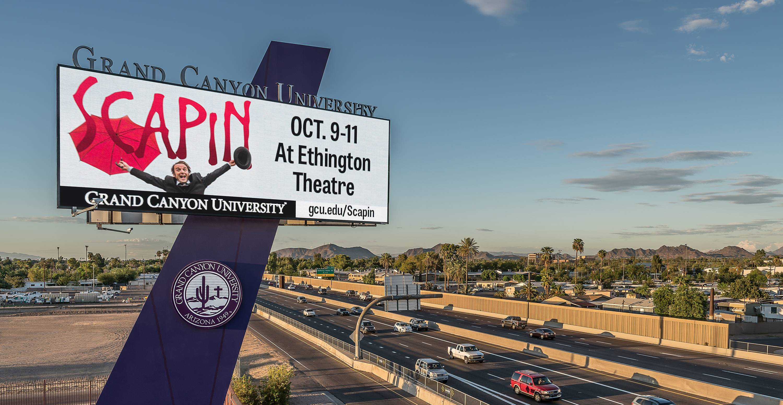 Grand Canyon University Custom Billboard