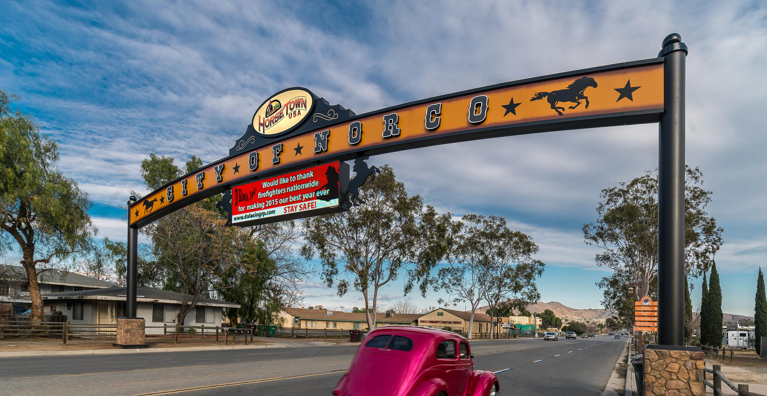City of Norco Custom Sign