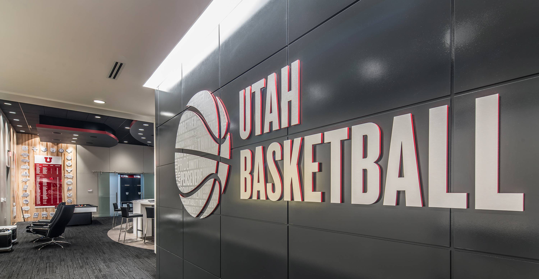 Utah Basketball Custom Signs