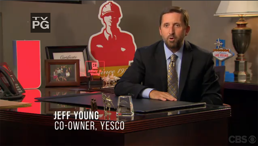 "YESCO featured on CBS's ""Undercover Boss"""