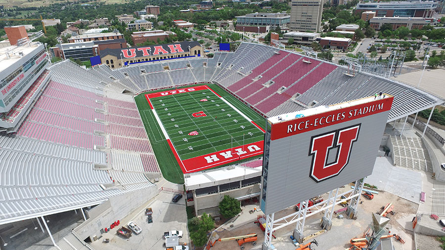 Rice Eccles Custom Sign