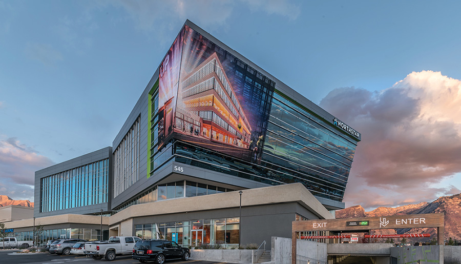University Place Building Wrap