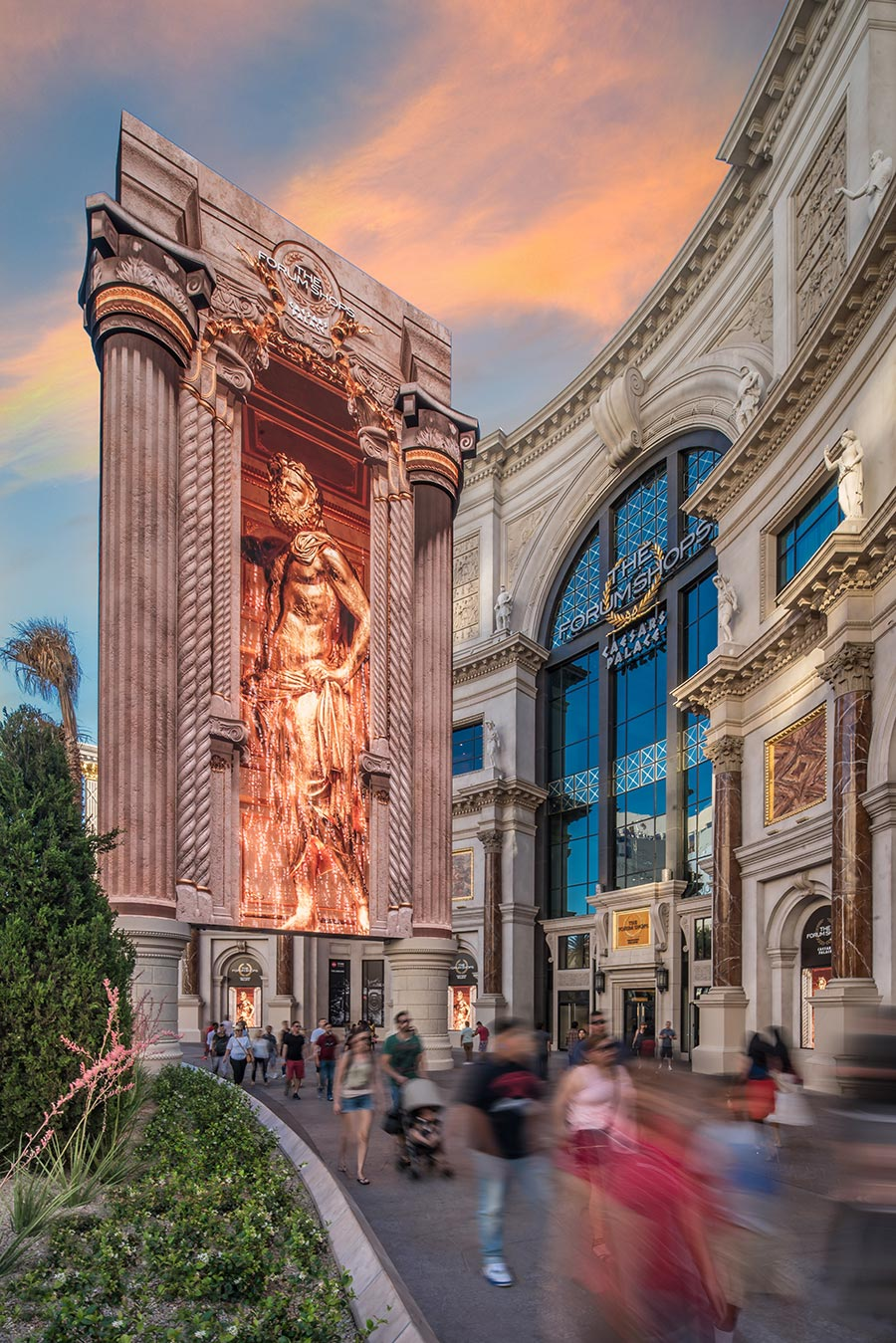 YESCO The Forum Shops Las Vegas Sign