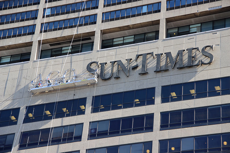 Chicago Sun-Times removal
