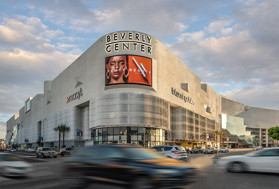 Beverly Center Custom Sign